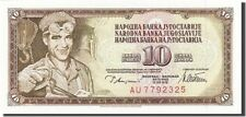 Yugoslav Banknotes Collection - 50-pcs Lot of 10 Dinara 1968