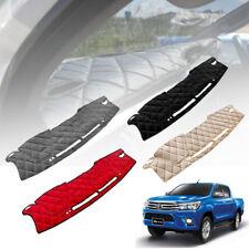 FOR TOYOTA HILUX REVO 2015-2016-2017 DASHMAT CARPET PAD DASHBOARD DASH MAT COVER