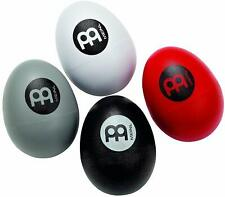 Meinl 4-Piece Egg Shaker Set with Four Different Volumes for Cajon, Drumset, New
