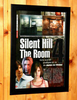 Silent Hill 4 The Room Rare Small Poster Vintage Ad Page Framed PS2 Xbox Konami