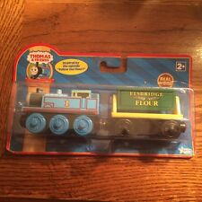 Flour Covered Thomas w/ Elsbridge Flour Car for the Wooden Railway System New