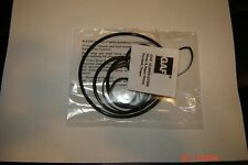 Anscovision 588 Projector Belts, & Install Instructions Gaf 7 Belt Set