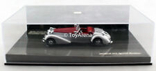 Minichamps 1/43 Horch 855 Special Roadster Silver Red 1938 Die Cast Car
