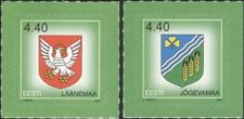 Estonia 2005 Town Arms/Coats-of-Arms/Eagle/Birds/Heraldry 2v set s/a (ee1238)
