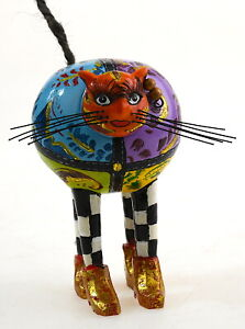 Toms drag The round Cat Künstler Skulptur aus 2006 Rarität aus TomsCompany geil!