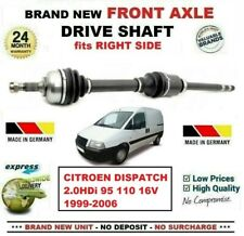 FOR CITROEN C5 MK3 DISPATCH 2.0 HDI DRIVE SHAFT NEARSIDE LEFT NEW OE QUALITY
