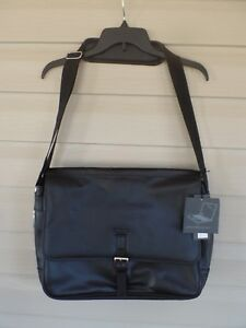 "NWT's $260.00 Kenneth Cole Reaction ""WHAT A BAG"" Laptop Bag/Computer Case. Black"
