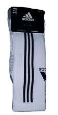New ADIDAS Tiro  Crew Socks One Size (6-12)  White