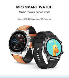 Intelligent Multi-Function Voice Bluetooth Play Heart Rate Detection Watch