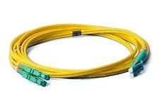 2m LWL E2000/APC-LC/APC Patchkabel, OS2, 9/125um, Lichtwellenleiter LWL Gelb