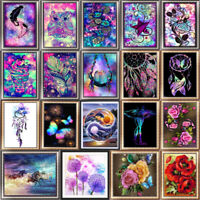 HOT DIY 5D Diamond Embroidery Painting Cross Stitch Kit Flower Home Decor /""