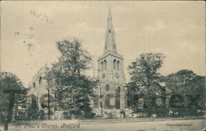 BEDFORD St. Paul's Church Postcard BEDFORDSHIRE Valentine's Co