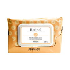 ABSOLUTE Makeup Cleansing Tissue 50CT - Retinol (Free Ship)