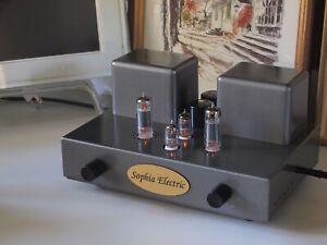 Magical sound: Sophia Electric Baby II tube amplifier, no 2a3/300B no El84/6V6