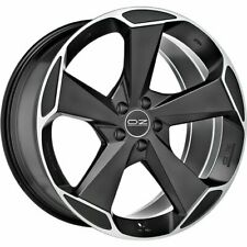 OZ RACING ASPEN HLT MATT BLACK DIAMOND CUT ALLOY WHEEL 21X9 ET26 5X112