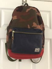Herschel Supply Co. Men's Travel Backpack Camo Navy Red