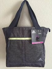 "ADIDAS Fearless Tote Gym bag Women Grey/Night flash 16"" x 4.5"" x 14"" approx."
