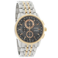Citizen Eco-Drive Mens A-T Radio Control World Time Chronograph Watch AT8116-57E