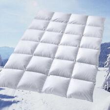 100% Winter Bettdecke Daunenbett neue weiße sibirische Daunen 155x220 1300g 60°