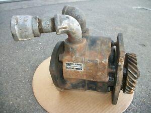Farmall M SM M&W Gear Hydraulic Pump Aftermarket Tractor Part 3HCS4-2L Used Old