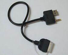 Cable auxiliaire hyundai pour iphone 4 ipod 2 3 4