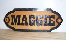 Personalized,CUSTOM WOODEN Horse Stall Name Any text Sign..Laser ENGRAVED.GIFT.
