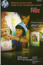 HP Premium 4 X6 Borderless~Gloss Photo Paper~500 ct~BOGO~(BUY~1~GET~1~FREE)~SALE
