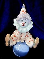 Lladro #5813 Having A Ball Brand Nib Clown Circus Hat Heart Cute $55 Off F/Sh