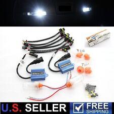15W Reverse Backup DRL HID AC Digital Xenon Kit 12V 6000K 1156 7440 194 921 912