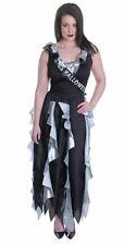 Ladies Zombie Prom Queen Halloween Fancy Dress Costume SIZE 10 - 14  - AC748
