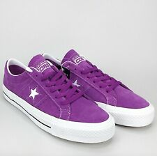 New Converse CONS One Star Pro OX Skate Shoe Icon Violet Suede 161523C