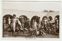 ADEN / YEMEN - Fruit Market - by M Howard - 1920s era real photo postcard