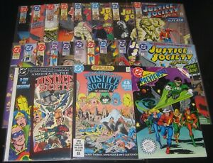 JUSTICE SOCIETY OF AMERICA LOT OF 21! SPECIAL #1! AMERICA VS.! BLACK CANARY!
