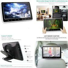 Schermo LCD 10.1 pollici poggiatesta lettore DVD di stile per Seggiolino Auto Posteriore resto HDMI/USB