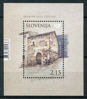 Slovenia 2018 MNH Benko's House 1v M/S Houses Architecture Stamps