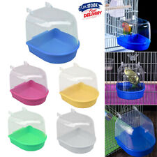 More details for classic bird bath for caged birds aviary birds budgie finches canaries uk stock