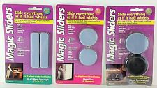 Magic Sliders As Seen on TV Lot or 3 Different Types Furniture & Appliance Mover