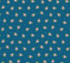 Lewis & Irene - 'Maya' Boho Hearts on Blue