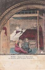 "*Postcard-""Translates;-Firenza-""Cloister of St. Mary Noveh/The Birth"" (U1-664)"