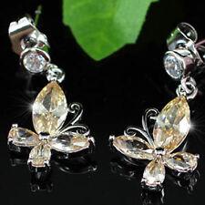 Butterfly Sapphire Fashion Earrings