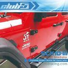 Complete Hinges / Nozzle Set (12 pc) for SCX10 III Jeep JT Gladiator (SLS Black)
