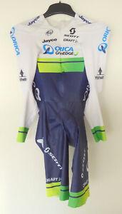 2016 team ORICA GREENEDGE rider issue M. ALBASINI time trial skinsuit CRAFT