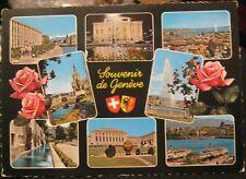Switzerland Souvenir de Geneve - posted