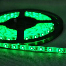 2835 CHIP Based LED Strip Light With Power Supply - 5m Rolls - GREEN Color