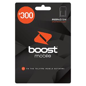 Boost Prepaid Trio Starter Kit $300