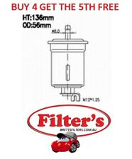 FUEL FILTER FOR FORD METEOR 1.6L GC B6 GHIA EFi 10/ 1985 - 1987
