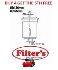 FUEL FILTER FOR FORD LASER 1.6L KC KE B6 B6B B6-T inc TURBO 10/ 1985 - 1990