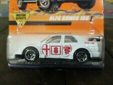 Matchbox #62 Motorsports Alfa Romeo 155 Rally Car White 1998