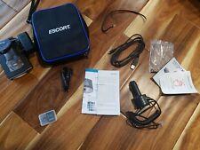 ESCORT MAX 360c Bluetooth WiFi SmartCord USB Radar Laser Detector with Dash Cam!