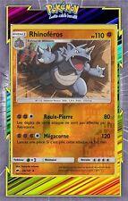 Rhinoféros Reverse- SL3:Ombres Ardentes - 66/147 - Carte Pokemon Neuve Française